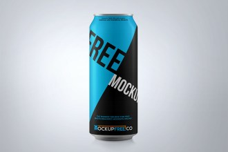 Soda & Soft Drink Can PSD