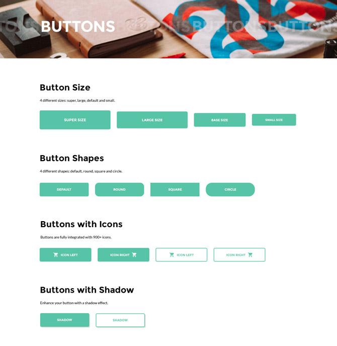 Starbis Buttons