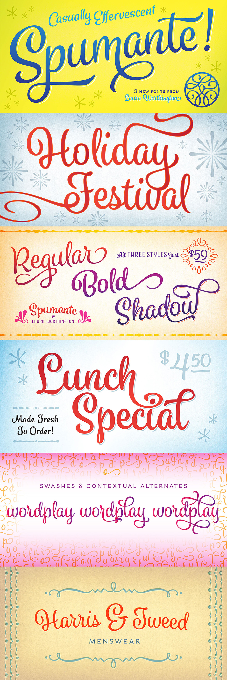 Definitive Fonts Bundle Spumante