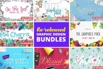 Re-released Graphic Design Bundles