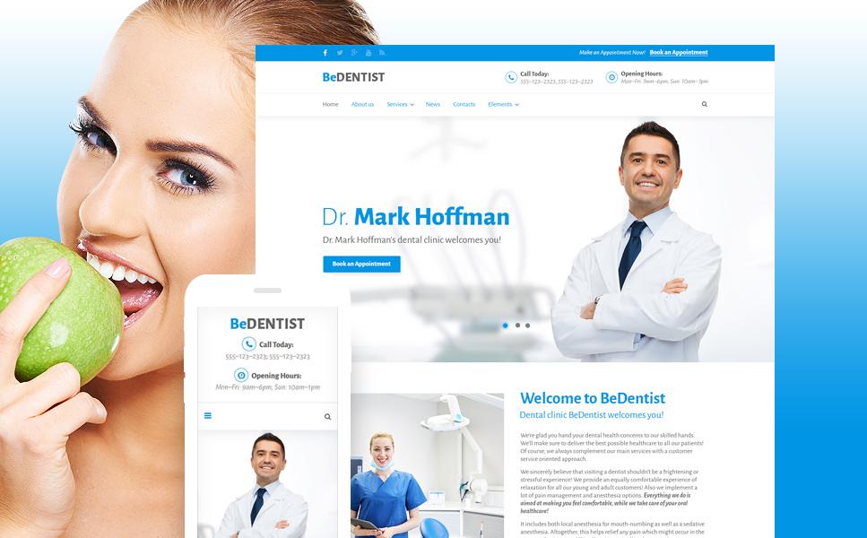 BeDentist - Dentist & Medical WordPress Theme