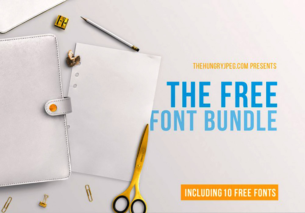 Download The FREE March Fonts Bundle - GraphicsFuel