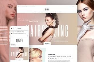Beauty & Hair Salon WordPress Theme