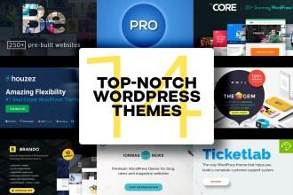 14 Top Notch Multipurpose WordPress Themes To Buy