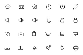 90 Daily Essential Icons