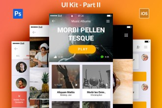 Appify: Free Mobile App UI Kit Vol.2