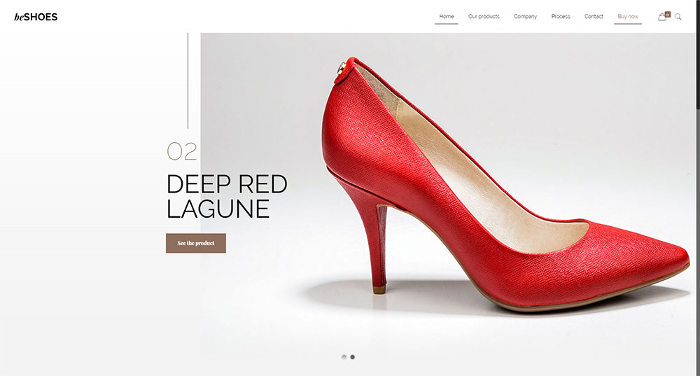 Be Shoes Theme