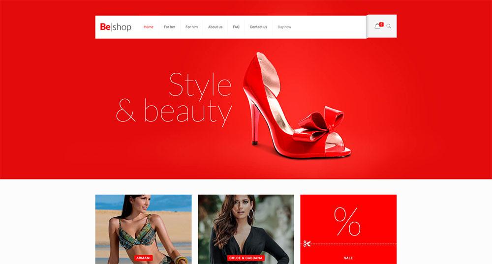 Be Shop Theme