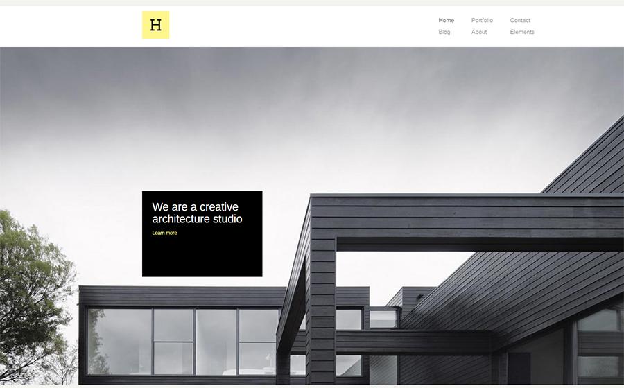 Hive - Creative Agency WordPress Theme
