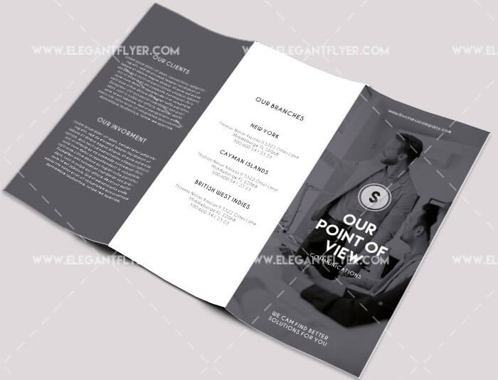 Business Free Brochure Template