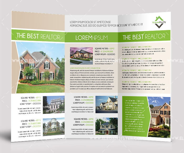 Free Real Estate Tri-Fold Brochure