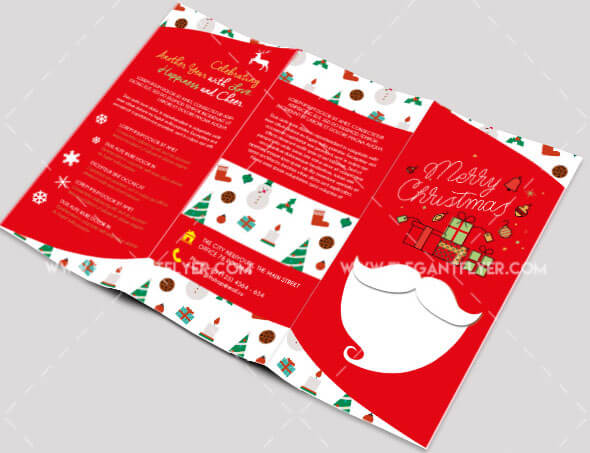 New Year – Free Tri-fold PSD Brochure