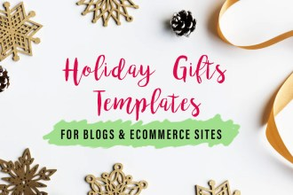 Holiday & Gifts Templates For Ecommerce Sites