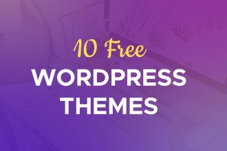 10 Free Wordpress Themes