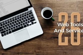 26 Web Tools & Services