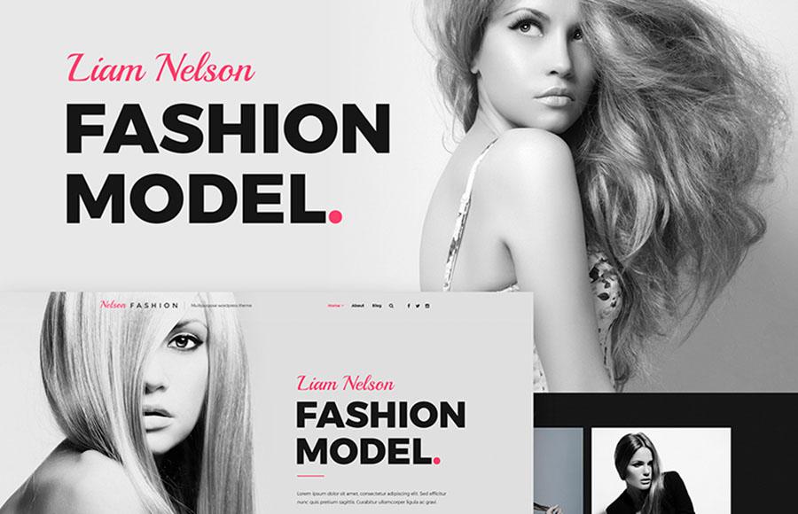 Nelson Fashion - Model Agency WordPress Theme