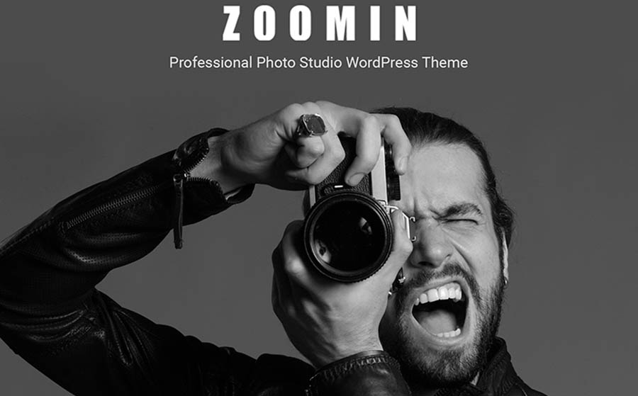 Zoomin - Photographer Portfolio WordPress Theme