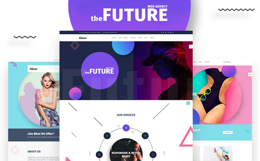 The Future Multipurpose HTML5 Template