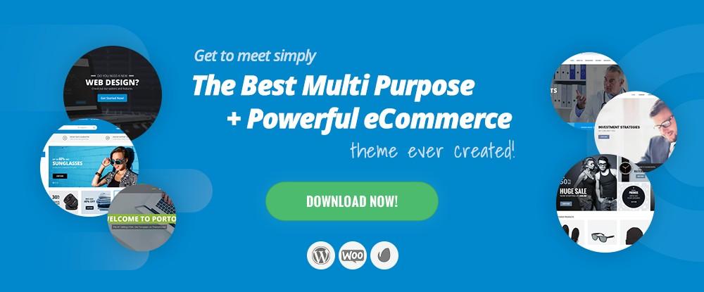 Porto – Ultimate WordPress + eCommerce Theme