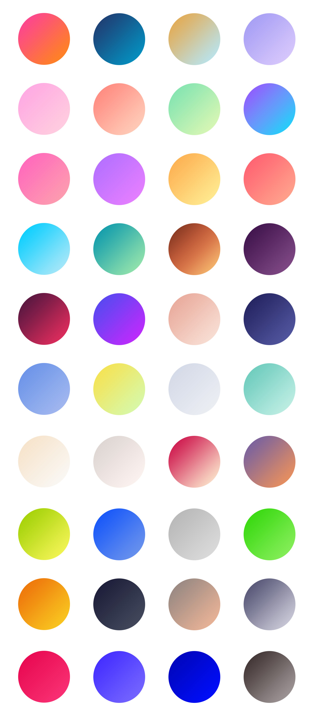 Free Gradients For Photoshop