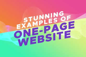 Examples of One Page Websites