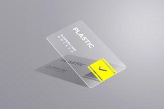 Plastic Business Card Mockups