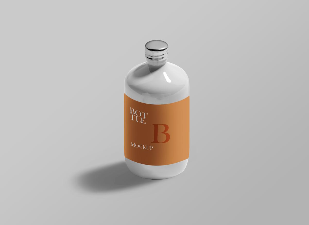 Bottle PSD Mockups