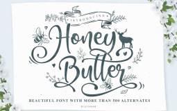 Honey-Butter-font