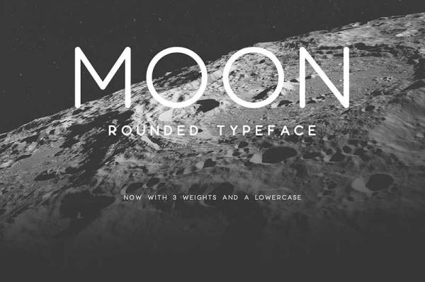 Moon-font-free-download