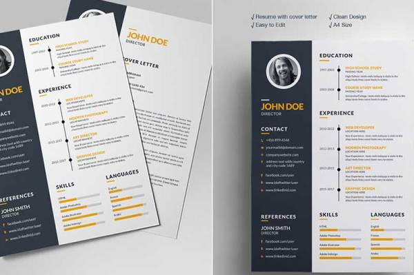free-resume-template-7