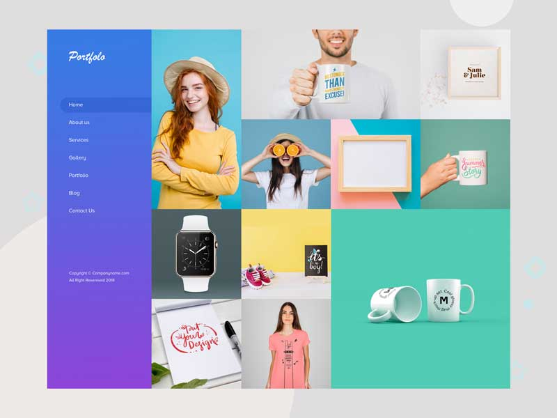 portfolio-website-psd