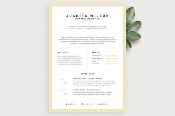 resume-template-psd-free-19