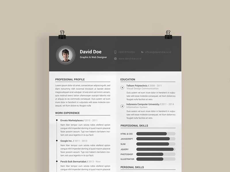resume-template-psd-free-21