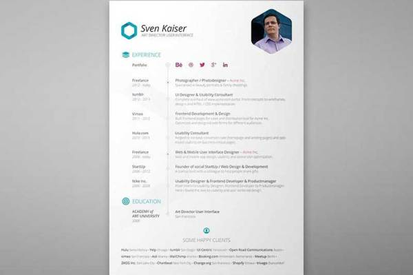 resume-template-psd-free-4