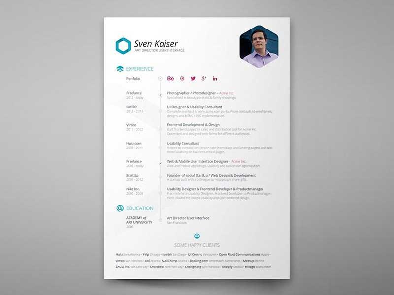 resume-template-psd-free-4
