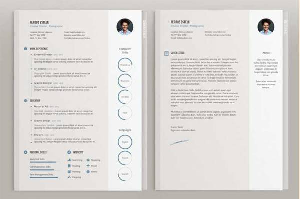 Four-Pages-Resume