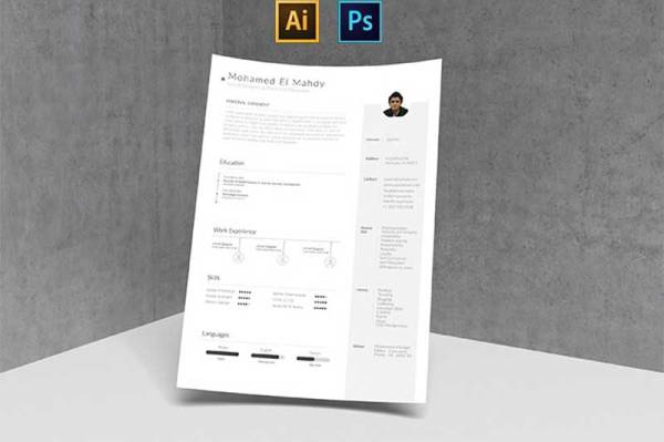 simple-resume-template-1