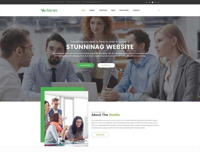 Best Business Agency PSD Template