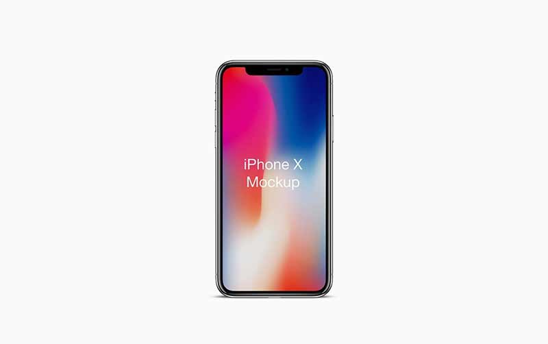 iphone x mockup psd