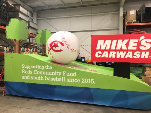 Mike's Carwash Float