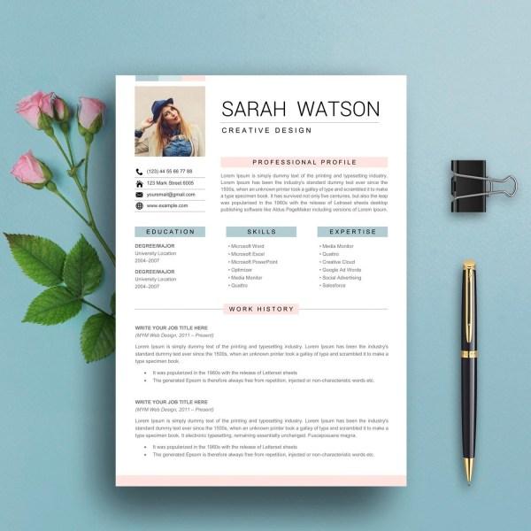 Simple and Elegant Resume Template