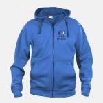 felpa jacket hoody full zip royal