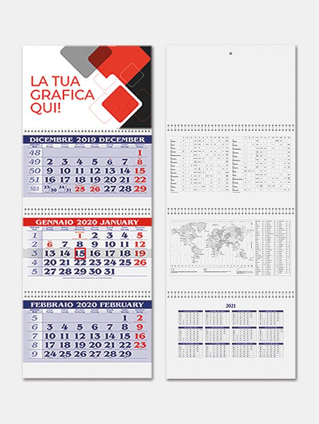 Calendario trittico