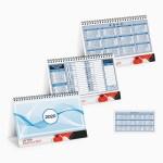 calendari da tavolo blu
