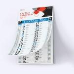 calendari olandesi Blu personalizzato ok