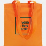 shopper totecolor tnt arancio