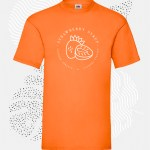 t-shirt uomo fruit 61036 arancione
