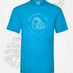t-shirt uomo fruit 61036 azzurro