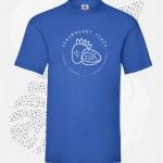 t-shirt uomo fruit 61036 blu royal