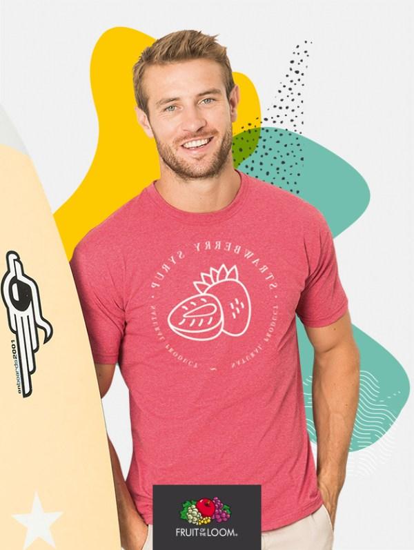 t-shirt uomo fruit 61036 default